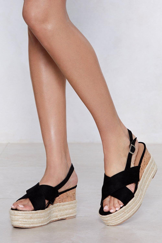 Up the Ante Platform Sandal | Shop Clothes at Nasty Gal!