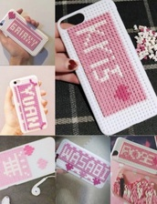 phone cover,girly,white,pink,iphone cover,iphone case,iphone,iphone 6 case,cute