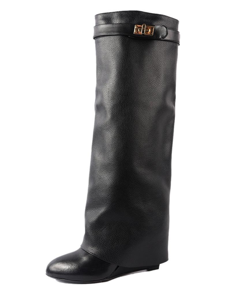 High wedge boots – shophouseofsole