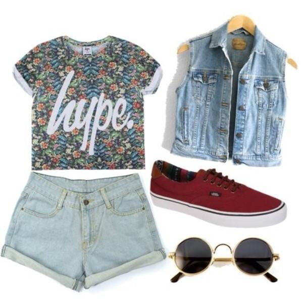 shirt flowers print hype t-shirt floral t shirt hype t-shirt vans denim vest blouse hipster