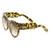Womens Designer Fashion Super Bold Round Cat Eye Sunglasses 9278