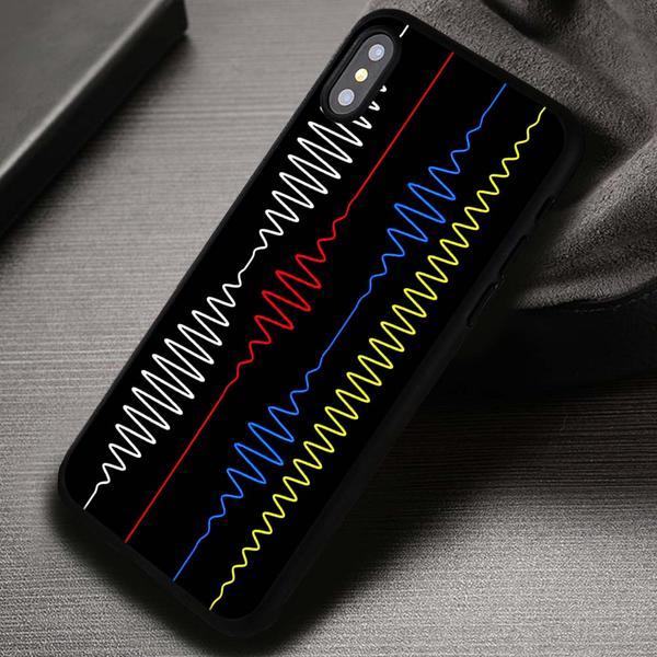 Sound Vibration Colors Arctic Monkeys - iPhone X 8  7 6s SE Cases & Covers #iPhoneX