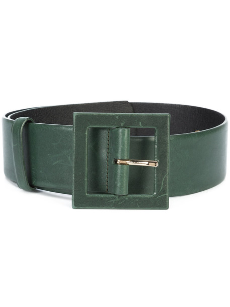 thick belt waist belt green