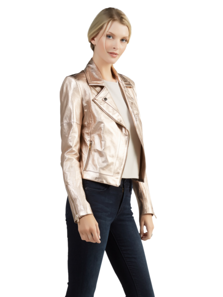 Justine Jacket in Light Gold