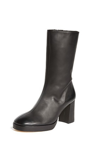 miista heel heel boots black shoes