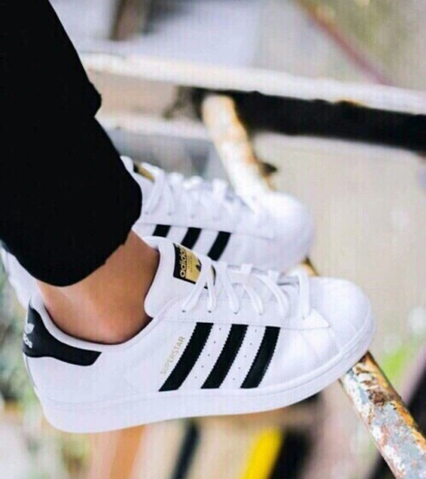 ankkp Adidas Superstar White And Black Gold claverleyconsulting.co.uk