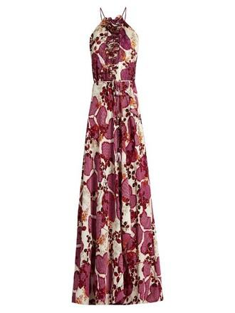 dress print pink