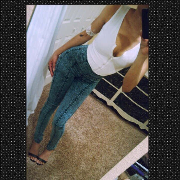 jeans high waisted jeans high waist acis wash jeans sexy modern sexy jeans