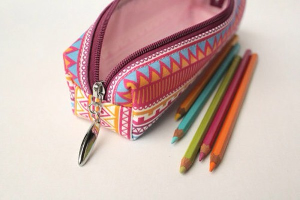 aztec pencil case stationary