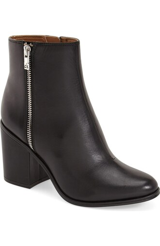 shoes calvin klein boots ankle boots black ankle boots