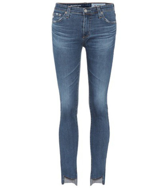 ag jeans jeans cropped jeans cropped blue