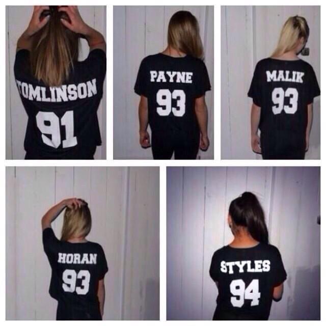 Louis tomlinson one direction dob number white tshirt black tshirt 1d slogan gift idea fangirl tshirt numbers tshirts fandom