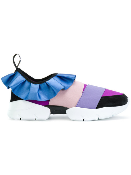 Emilio Pucci women sneakers leather shoes