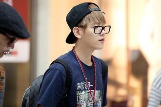 baekhyun exo glasses 뿔태