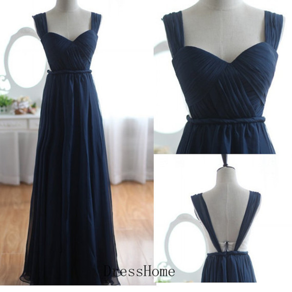 dress long bridesmaid dress royal blue  bridesmaid dres simple  bridesmaid dres chiffon  bridesmaid dres bridesmaid