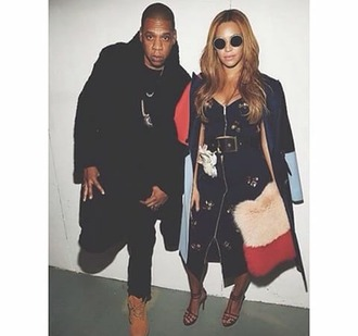 sunglasses beyonce jay z shoes shorts dress coat