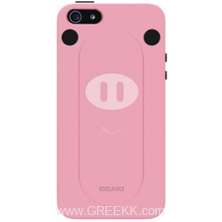 iphone 5 Pink Pig 3D case
