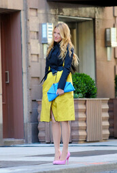 coat,blake lively,skirt