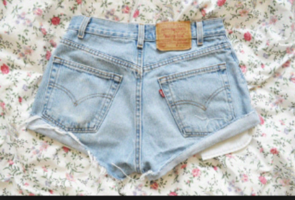 short jeans blue shorts vintage girly swag
