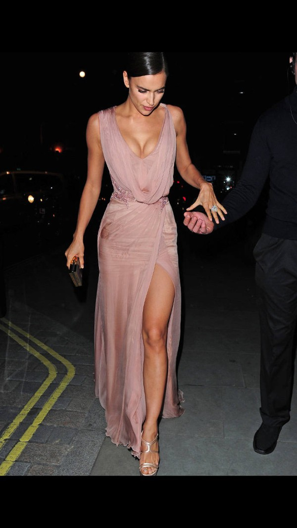 Dress Irina Shayk Prom Dress Prom Gown Gown Prom