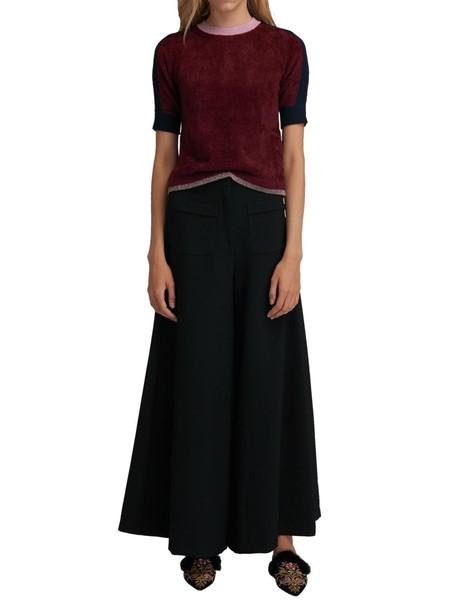 Max Mara blouse red top