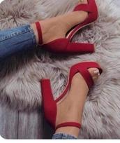 shoes,heels,red,redheels