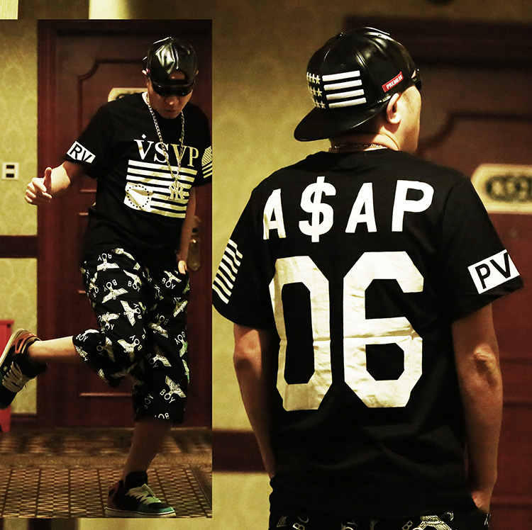 A ap worldwide west T shirt digital short sleeve skateboard hip hop hiphop hip hop plus big size 2014 new rap T shirt-inT-Shirts from Apparel & Accessories on Aliexpress.com | Alibaba Group