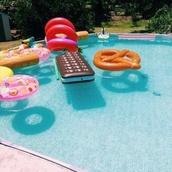 swimwear,jewels,pool,float,food,float dress,pool party