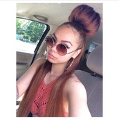 top,sunglasses,versace