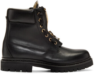 boots combat boots black shoes