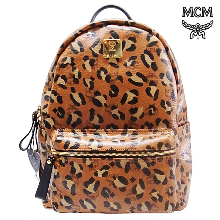 BPM | Rakuten Global Market: Back in stock! PACK LEOPARD BACK (MCM elegante ) MCM MCM MIDIUM (BROWN)