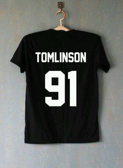 one direction t-shirt louis tomlinson 91
