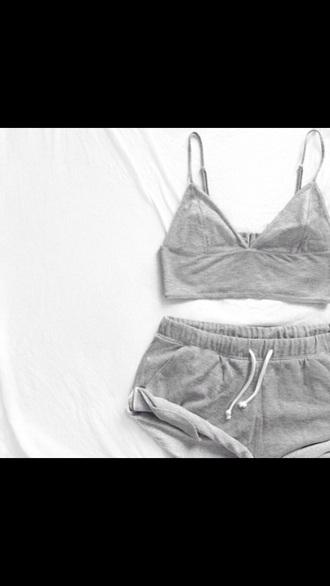 shorts drawstring drawstring shorts draw string gray shorts athlete shorts