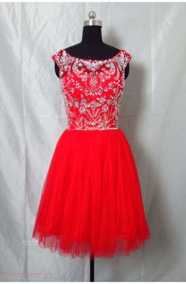 Dress girl dresses red dress cocktail dress prom dress for Oxiclean wedding dress