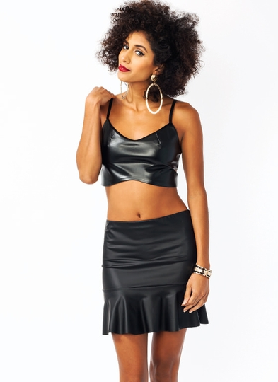 Split-Up-Cropped-Top BLACK - GoJane.com