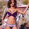 Solkissed anita bikini top - purple