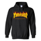 Thrasher fire yellow hoodie - basic tees shop