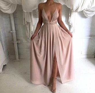 dress pink summer dress prom dress bridesmaid elegant elegant dress sexy dress sexy cocktail dress