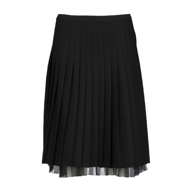 Marc Jacobs skirt pleated skirt pleated black