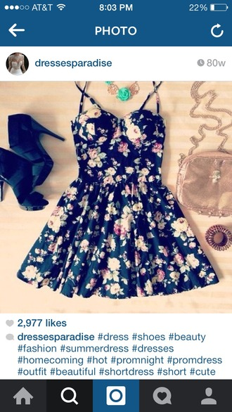 dress mini dress floral fit-and-flare fit and flare fit and flare dress fit and flair festival festival dress