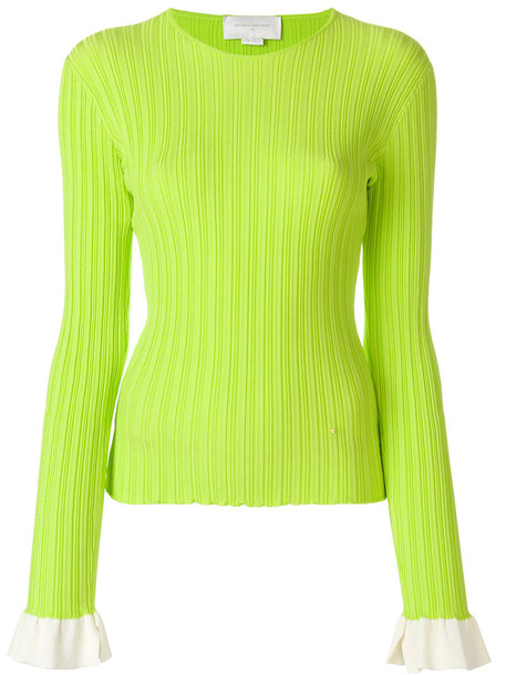 Esteban Cortazar jumper women cotton green sweater