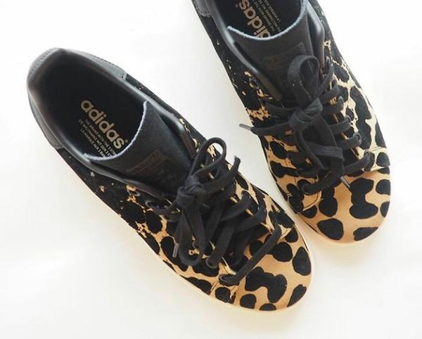 Shoes: leopard print, adidas, sneakers, adidas originals ...