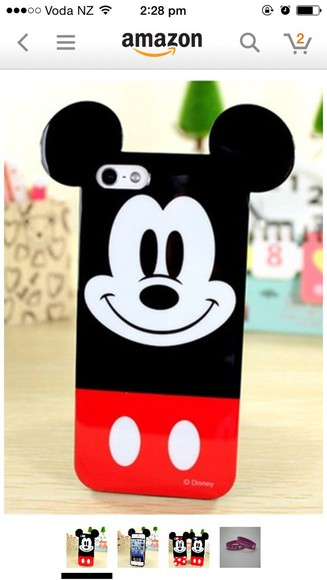 mickey mouse minnie mouse phone case iphone 5 case