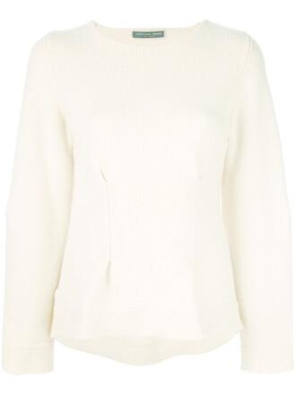 sweater women white