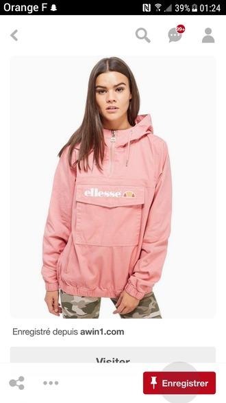 jacket ellesse rose veste