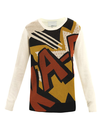 Ka-Pow print sweater | 3.1 Phillip Lim | Matchesfashion.com