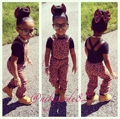 jumpsuit,girl,fashion,girly,kids fashion,leopard print,bows,hair bow,gold chain,gold chain necklace,jumper,overalls,glasses,timberlands,gold black chain,hair bun,criss cross,low back shirt,leopard print jumpsuit,Leopard print bow,joggers,Jogger jumper,nerd,nerd glasses,bun,Nyla Milan,leopard suit,romper,leapord,sunglasses,brown and black cheetah