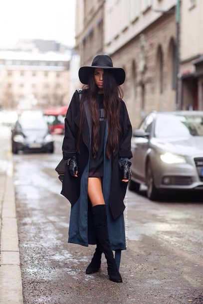 coat black coat blue coat long coat
