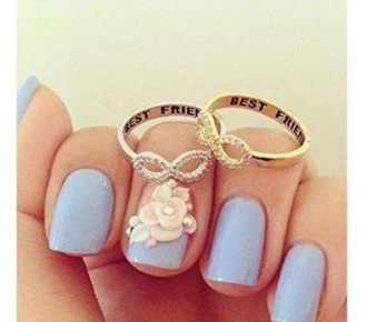 jewels jewelry best friends infinity ring infinity ring gold bff bff rings infinity ring