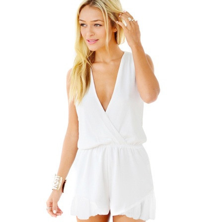 """Chic """"the lolita"""" sleeveless romper (3 colors available) – glamzelle"""